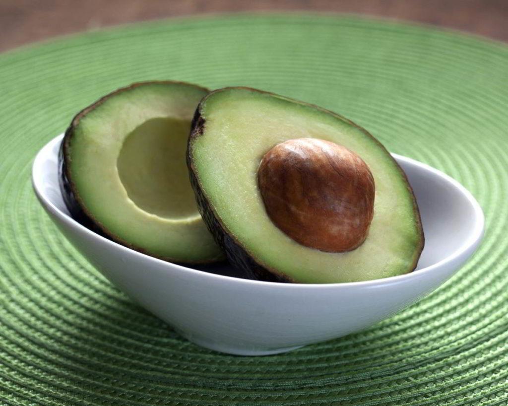 avocado in cup