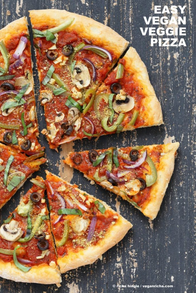 Easy Vegan Pizza Recipes