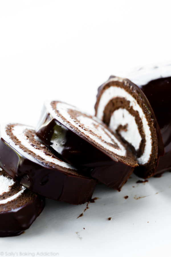 chocolate cake roll swiss