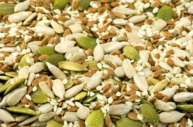 Seeds has magnesium